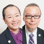 田中郁子理事長、玉置繁憲院長